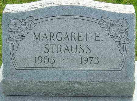 STRAUSS, MARGARET E - Montgomery County, Ohio | MARGARET E STRAUSS - Ohio Gravestone Photos