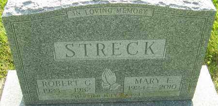 STRECK, MARY E - Montgomery County, Ohio | MARY E STRECK - Ohio Gravestone Photos