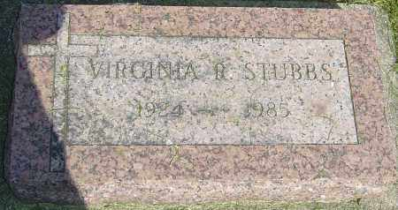 STUBBS, VIRGINIA R - Montgomery County, Ohio | VIRGINIA R STUBBS - Ohio Gravestone Photos