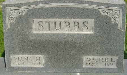 STUBBS, WALTER EUGENE - Montgomery County, Ohio | WALTER EUGENE STUBBS - Ohio Gravestone Photos