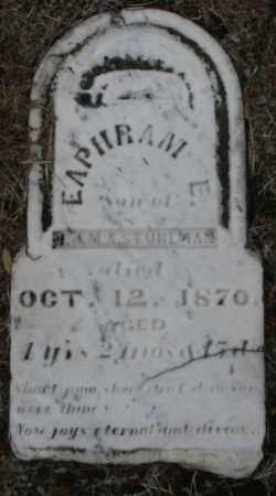 STUHLMAN, EAPHRAM E. - Montgomery County, Ohio | EAPHRAM E. STUHLMAN - Ohio Gravestone Photos