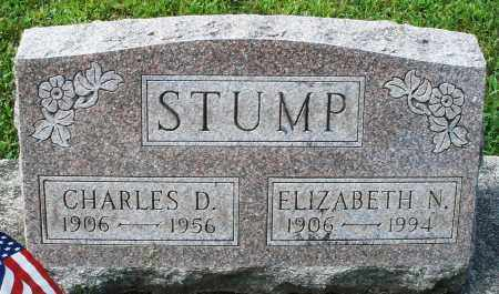 STUMP, CHARLES D. - Montgomery County, Ohio | CHARLES D. STUMP - Ohio Gravestone Photos