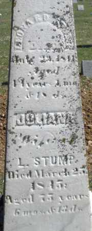 STUMP, JULIANA - Montgomery County, Ohio | JULIANA STUMP - Ohio Gravestone Photos