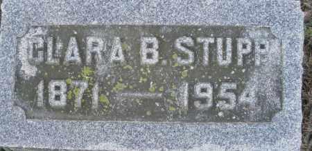 STUPP, CLARA B. - Montgomery County, Ohio | CLARA B. STUPP - Ohio Gravestone Photos