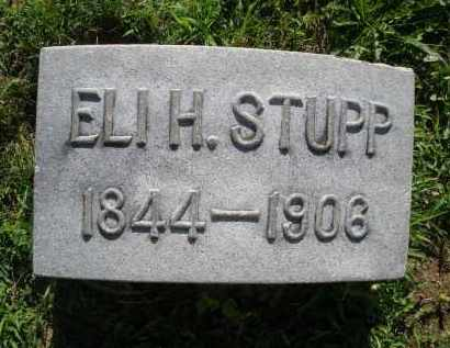 STUPP, ELI H. - Montgomery County, Ohio | ELI H. STUPP - Ohio Gravestone Photos