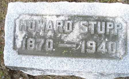 STUPP, HOWARD - Montgomery County, Ohio | HOWARD STUPP - Ohio Gravestone Photos