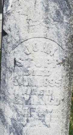 STUPP, JOHN - Montgomery County, Ohio | JOHN STUPP - Ohio Gravestone Photos
