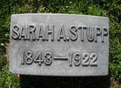 STUPP, SARAH A. - Montgomery County, Ohio | SARAH A. STUPP - Ohio Gravestone Photos