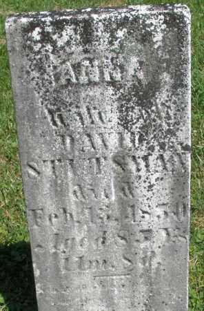 STUTSMAN, ANNA - Montgomery County, Ohio | ANNA STUTSMAN - Ohio Gravestone Photos