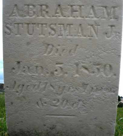 STUTSMAN, ABRAHAM JR. - Montgomery County, Ohio | ABRAHAM JR. STUTSMAN - Ohio Gravestone Photos
