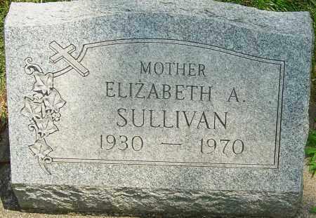 SULLIVAN, ELIZABETH A - Montgomery County, Ohio | ELIZABETH A SULLIVAN - Ohio Gravestone Photos