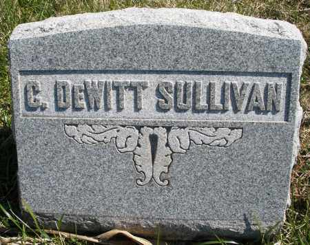 SULLIVAN, G. DEWITT - Montgomery County, Ohio | G. DEWITT SULLIVAN - Ohio Gravestone Photos