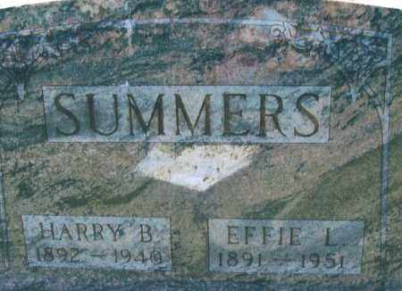 SUMMERS, HARRY B. - Montgomery County, Ohio | HARRY B. SUMMERS - Ohio Gravestone Photos