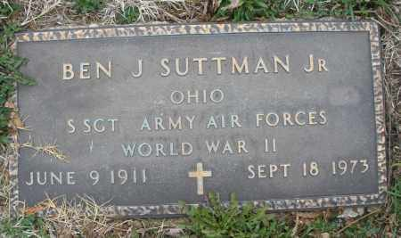SUTTMAN, BEN J. JR. - Montgomery County, Ohio | BEN J. JR. SUTTMAN - Ohio Gravestone Photos