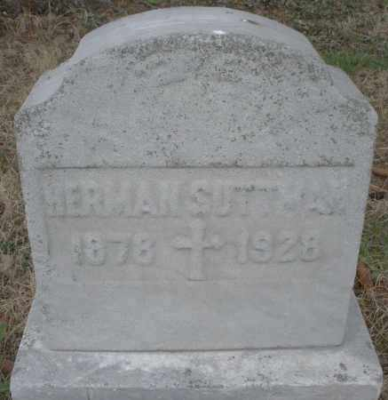 SUTTMAN, HERMAN - Montgomery County, Ohio | HERMAN SUTTMAN - Ohio Gravestone Photos