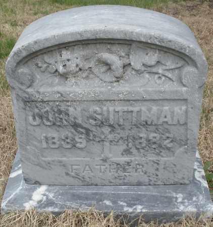 SUTTMAN, JOHN - Montgomery County, Ohio | JOHN SUTTMAN - Ohio Gravestone Photos