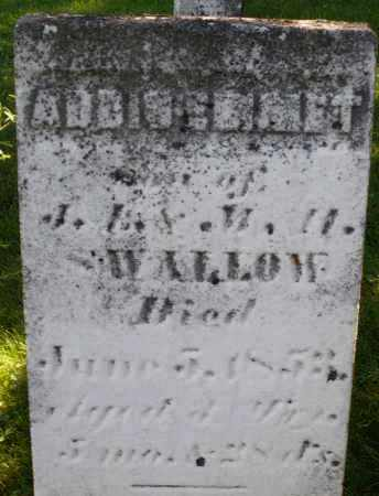 SWALLOW, ADDISENMET ? - Montgomery County, Ohio | ADDISENMET ? SWALLOW - Ohio Gravestone Photos
