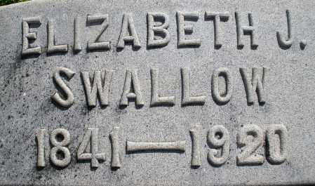 SWALLOW, ELIZABETH J. - Montgomery County, Ohio | ELIZABETH J. SWALLOW - Ohio Gravestone Photos