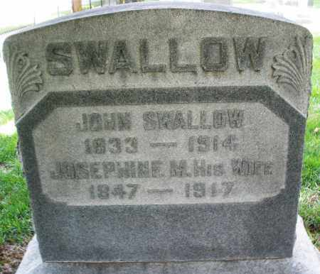 SWALLOW, JOSEPHINE M. - Montgomery County, Ohio | JOSEPHINE M. SWALLOW - Ohio Gravestone Photos
