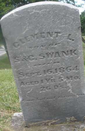SWANK, CLEMENT L. - Montgomery County, Ohio | CLEMENT L. SWANK - Ohio Gravestone Photos