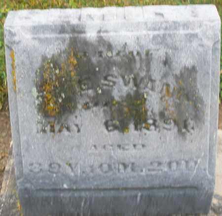 SWANK, ELMIRA - Montgomery County, Ohio | ELMIRA SWANK - Ohio Gravestone Photos