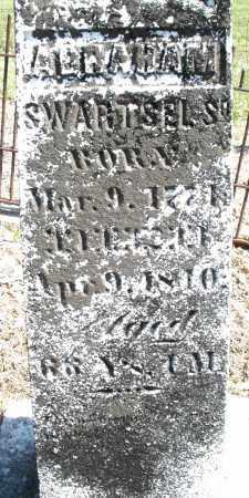 SWARTSEL, ABRAHAM - Montgomery County, Ohio | ABRAHAM SWARTSEL - Ohio Gravestone Photos