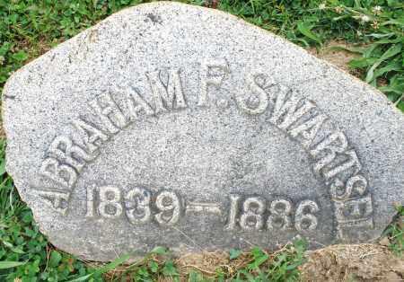 SWARTSEL, ABRAHAM F. - Montgomery County, Ohio | ABRAHAM F. SWARTSEL - Ohio Gravestone Photos