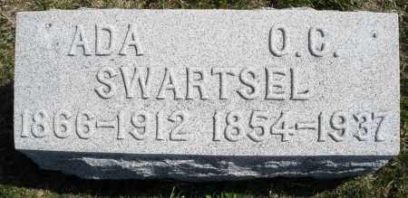 SWARTSEL, O.C. - Montgomery County, Ohio | O.C. SWARTSEL - Ohio Gravestone Photos