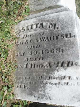 SWARTSEL, ROSETTA M. - Montgomery County, Ohio | ROSETTA M. SWARTSEL - Ohio Gravestone Photos