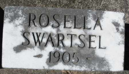 SWARTSEL, ROSELLA - Montgomery County, Ohio | ROSELLA SWARTSEL - Ohio Gravestone Photos