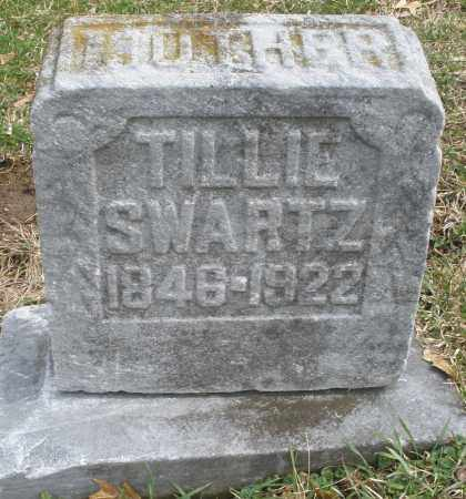 SWARTZ, TILLIE - Montgomery County, Ohio | TILLIE SWARTZ - Ohio Gravestone Photos