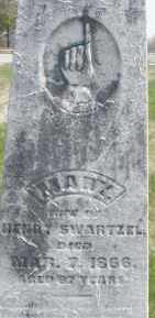 SWARTZEL, MARY - Montgomery County, Ohio | MARY SWARTZEL - Ohio Gravestone Photos