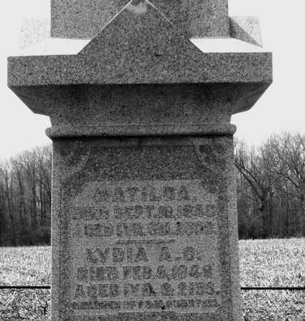 SWARTZEL, LYDIA A.G. - Montgomery County, Ohio | LYDIA A.G. SWARTZEL - Ohio Gravestone Photos