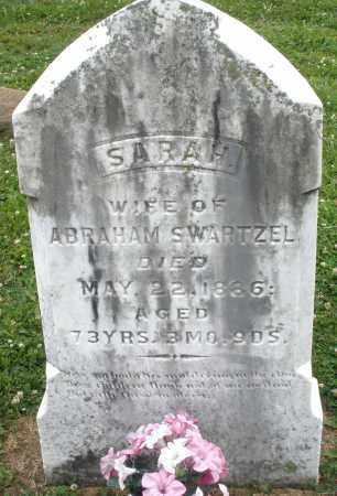 SWARTZEL, SARAH - Montgomery County, Ohio | SARAH SWARTZEL - Ohio Gravestone Photos