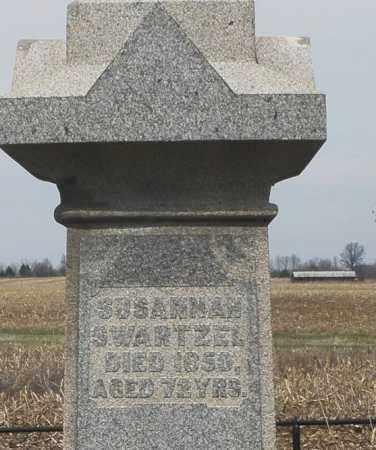 SWARTZEL, SUSANNAH - Montgomery County, Ohio | SUSANNAH SWARTZEL - Ohio Gravestone Photos