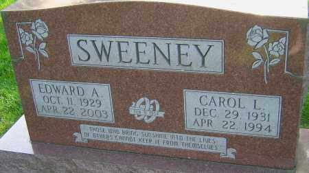 SWEENEY, EDWARD A - Montgomery County, Ohio | EDWARD A SWEENEY - Ohio Gravestone Photos