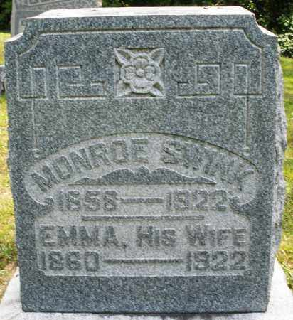 SWINK, EMMA - Montgomery County, Ohio | EMMA SWINK - Ohio Gravestone Photos