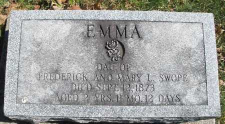SWOPE, EMMA - Montgomery County, Ohio | EMMA SWOPE - Ohio Gravestone Photos