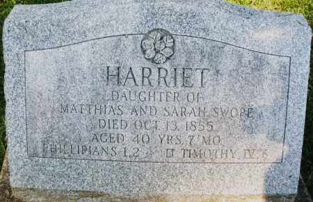 SWOPE, HARRIET - Montgomery County, Ohio | HARRIET SWOPE - Ohio Gravestone Photos
