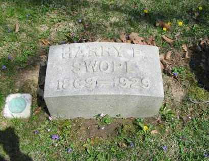 SWOPE, HARRY E. - Montgomery County, Ohio | HARRY E. SWOPE - Ohio Gravestone Photos
