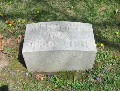HARRIS SWOPE, MERRIMISS - Montgomery County, Ohio | MERRIMISS HARRIS SWOPE - Ohio Gravestone Photos