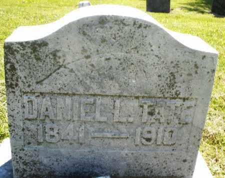 TATE, DANIEL L. - Montgomery County, Ohio | DANIEL L. TATE - Ohio Gravestone Photos