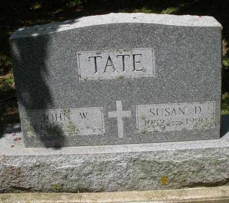 TATE, JOHN W. - Montgomery County, Ohio | JOHN W. TATE - Ohio Gravestone Photos
