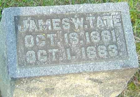 TATE, JAMES W - Montgomery County, Ohio | JAMES W TATE - Ohio Gravestone Photos