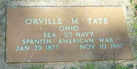 TATE, ORVILLE M - Montgomery County, Ohio | ORVILLE M TATE - Ohio Gravestone Photos