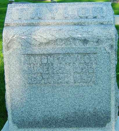 TAYLOR, AARON - Montgomery County, Ohio | AARON TAYLOR - Ohio Gravestone Photos
