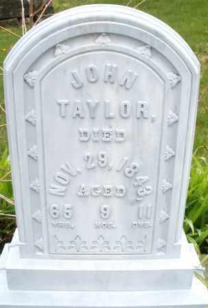 TAYLOR, JOHN - Montgomery County, Ohio | JOHN TAYLOR - Ohio Gravestone Photos