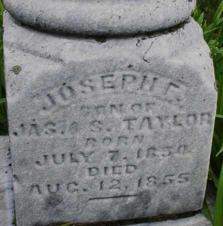 TAYLOR, JOSEPH E. - Montgomery County, Ohio | JOSEPH E. TAYLOR - Ohio Gravestone Photos