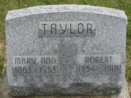 TAYLOR, MARY ANN - Montgomery County, Ohio | MARY ANN TAYLOR - Ohio Gravestone Photos