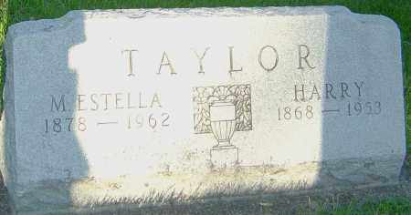TAYLOR, HARRY - Montgomery County, Ohio | HARRY TAYLOR - Ohio Gravestone Photos
